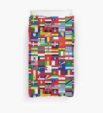 WORLD FLAGS Duvet Cover