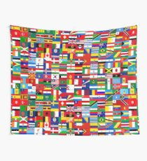 WORLD FLAGS Wall Tapestry