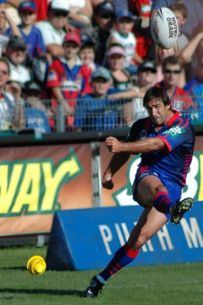 Andrew Johns - Newcastle Knights legend, before his retirement.  by JCRPhotos