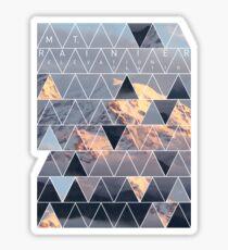 Mt Rainier Elevation 14,411ft Sticker