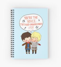 You're the Voice Try and Understand It! Spiral Notebook
