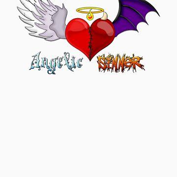 Angelic Sinner by kookyspookyart
