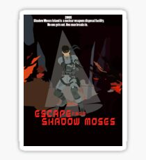 Escape From Shadow Moses Sticker