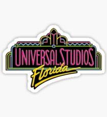 Universal Studios Florida - Vintage logo  Sticker