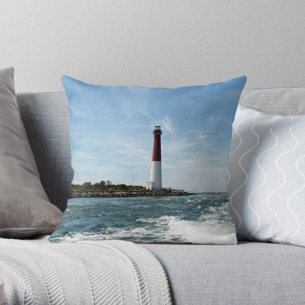 Barnegat Lighthouse - Ship Bottom, NJ  Throw Pillow