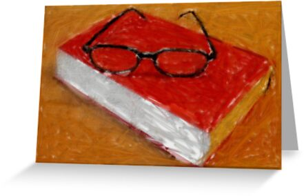 Book Under Glasses by RobynLee