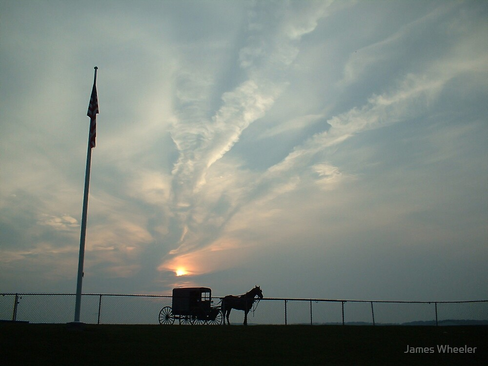 Amish Skies by James Wheeler