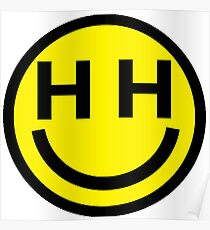 Happy Hippie Foundation Logo Miley Cyrus Poster