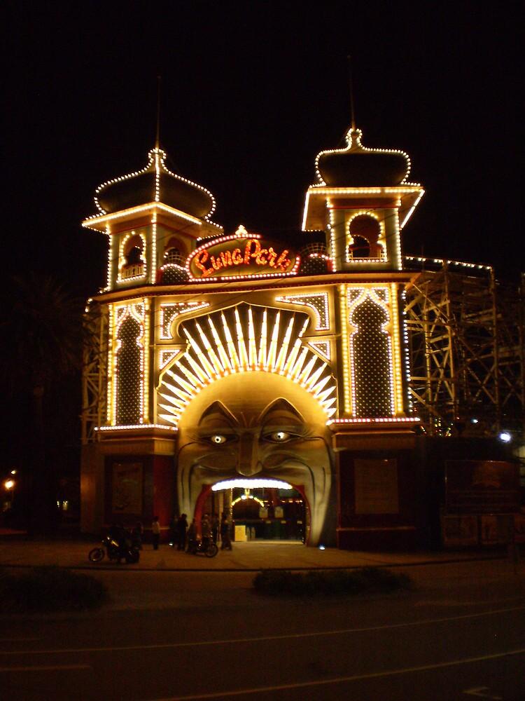 St Kilda Luna Park by blennus