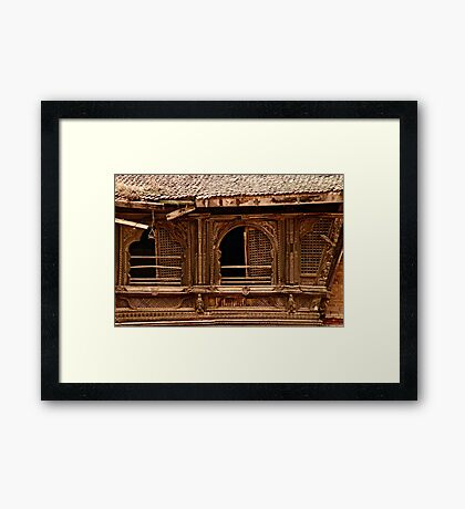 Ancient Architectural Elements Framed Print