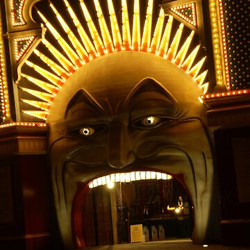St Kilda's Luna Park Face by blennus