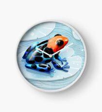 Poison Dart Frog  Clock