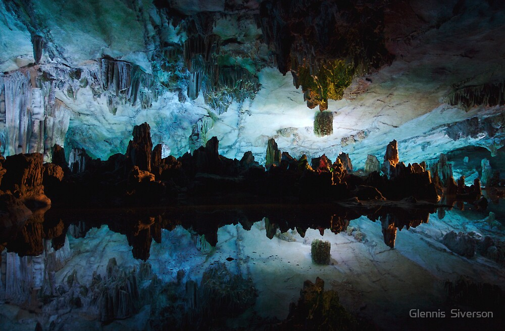 Reed Flute Cave by Glennis  Siverson