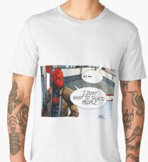 Red Hood - I Don't Want to Talk to People Men's Premium T-Shirt