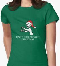 Grr Argh Christmas Women's Fitted T-Shirt