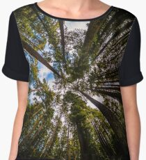 Forest by Fish Eye Lens Chiffon Top