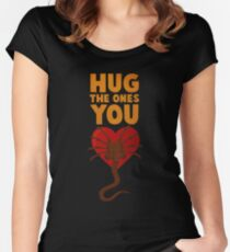 Facehugger Women's Fitted Scoop T-Shirt