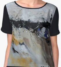 abstract 887160 Chiffon Top