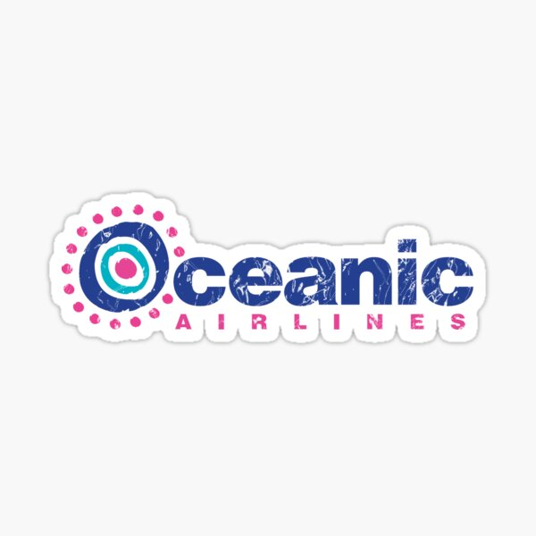 Oceanic Airlines (LOST) Sticker