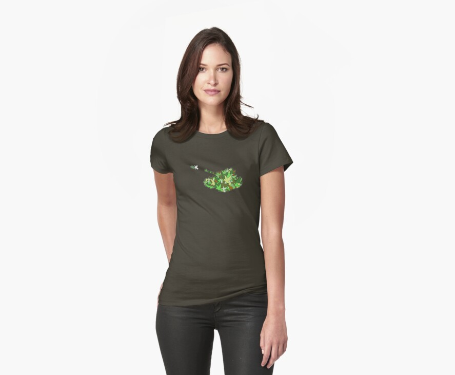 Peacekeepers (Olive dove or Olive drab) by nofrillsart
