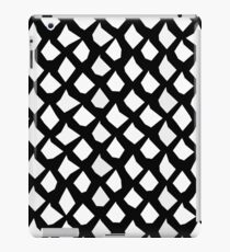 Black and White Unique Abstract Pattern iPad Case/Skin