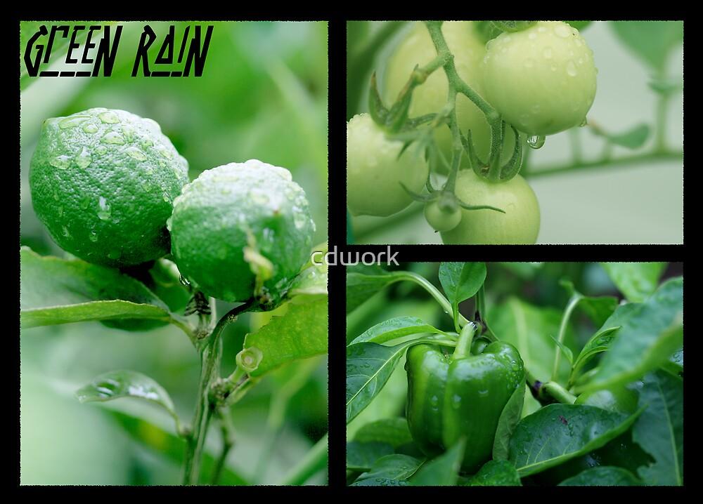 Green Rain by cdwork