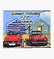 Summer motoring Photographic Print