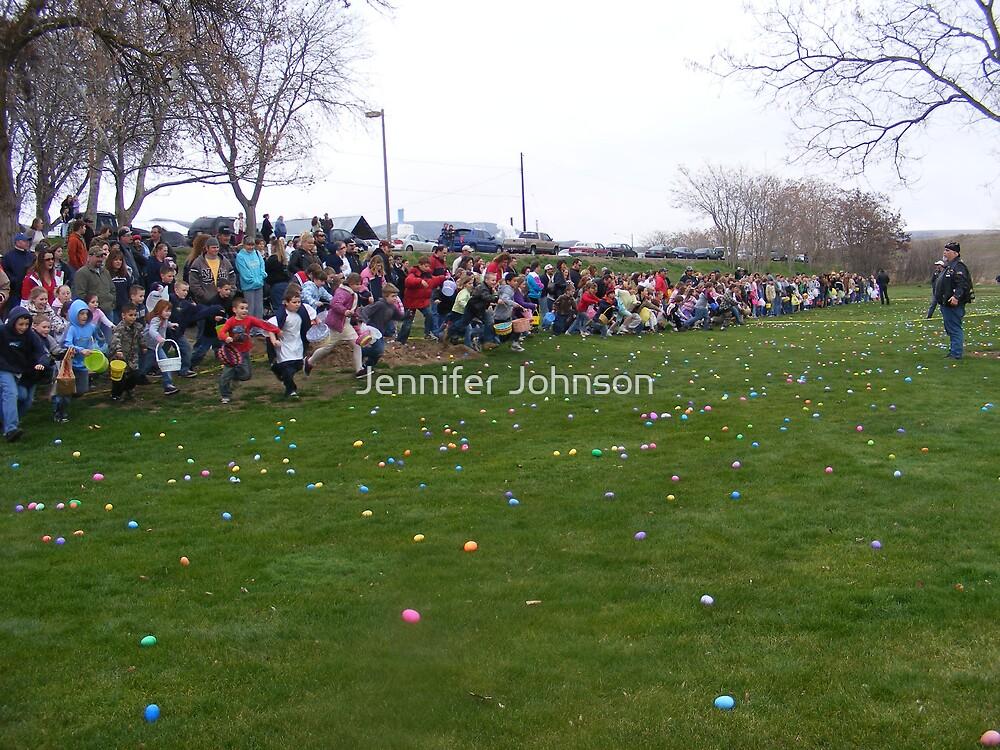 Get those eggs by Jennifer Johnson