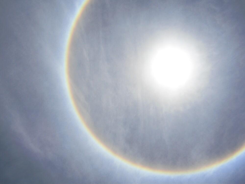 Rainbow Around the Sun by mekana