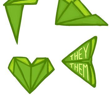 They/Them Geometric by Sno-Oki