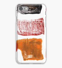Licorice abstract watercolor iPhone Case/Skin