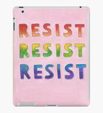 resist resist resist iPad Case/Skin