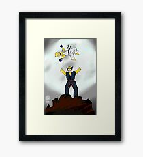 The best fights are personal. Framed Print