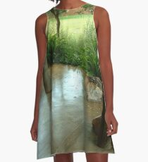 Country patio A-Line Dress