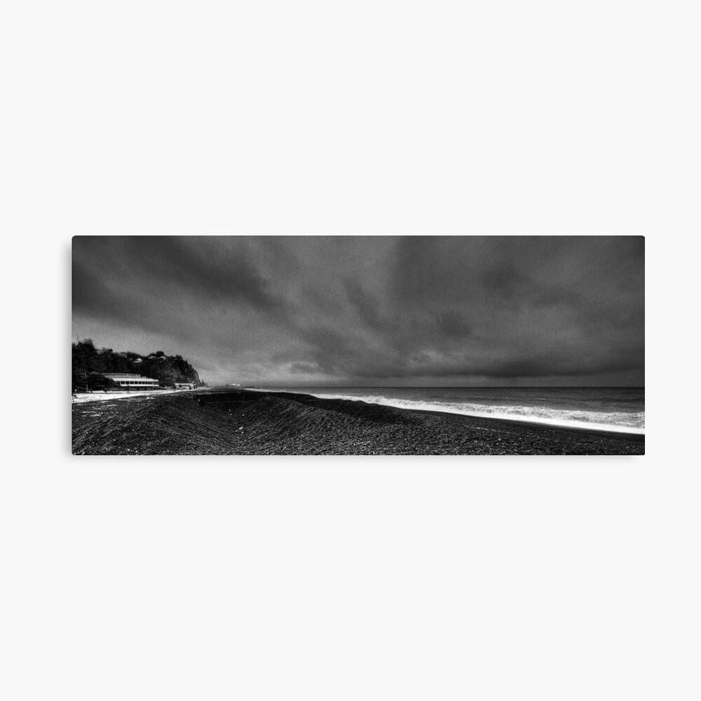 Napier Beach - Pebbles Canvas Print