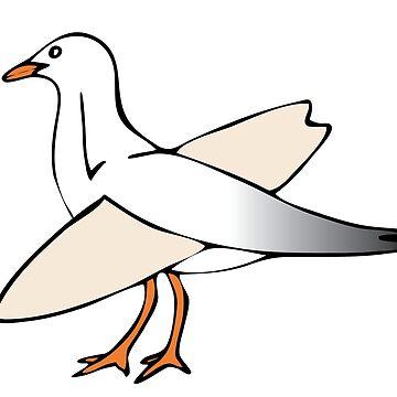 Gulls just wanna have fun! by drewpratley