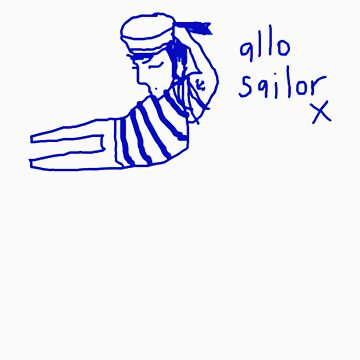 'Allo Sailor x' by ellejayerose