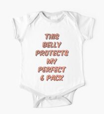 This Belly Protects My Perfect 6 Pack Kids Clothes