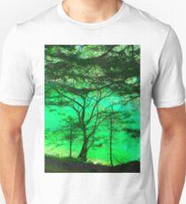 Tree & Green Lake 1 Unisex T-Shirt