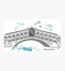 Ponte di Rialto.Venice Photographic Print