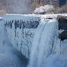 Icy Niagara Falls by Georgia Mizuleva