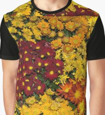 Abundance of Yellows, Reds and Oranges Graphic T-Shirt