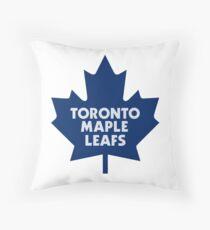 maple leafs Throw Pillow