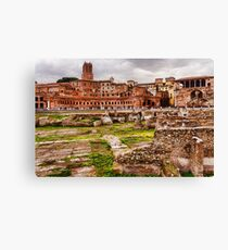 Trajan's Market and Forum - Impressions Of Rome Canvas Print