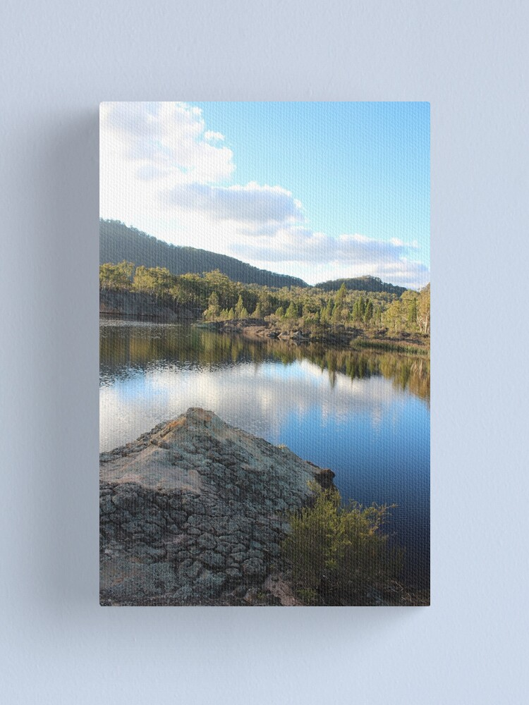 Alternate view of Platypus Point Dunn's Swamp NSW Canvas Print