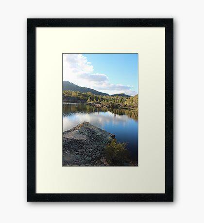 Platypus Point Dunn's Swamp NSW Framed Print