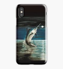 Moonlit Marlin iPhone Case/Skin