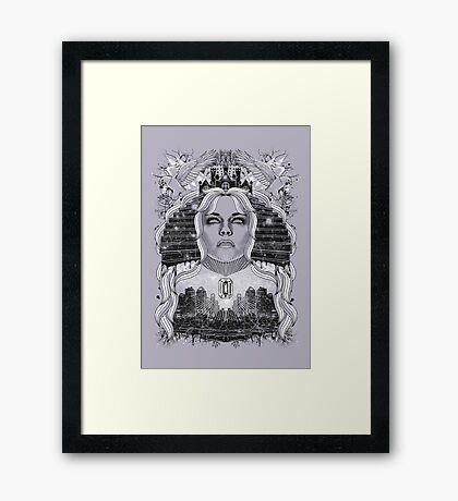 Stairway to Eternity Framed Print