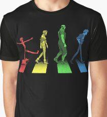 Stray Dog Strut Graphic T-Shirt
