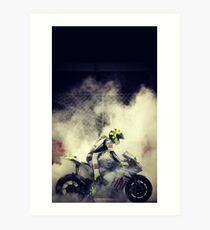 valentino rossi best wallpaper Art Print